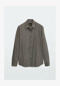 Skjorta - metallic grey