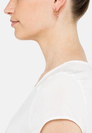 AMBA - Earrings - rose goldfarbend