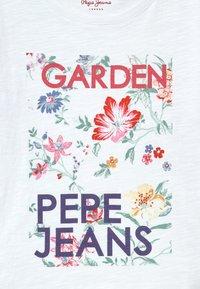 Pepe Jeans - MATE - Top sdlouhým rukávem - optic white - 3