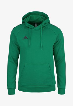 CORE ELEVEN FOOTBALL HOODIE SWEAT - Jersey con capucha - bright green