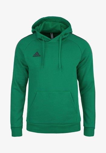 CORE ELEVEN FOOTBALL HOODIE SWEAT - Felpa con cappuccio - bright green