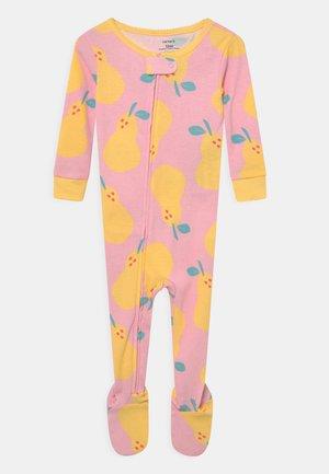 PEAR - Kruippakje - light pink/yellow
