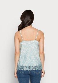 Rosemunde - Blouse - blue mint/ivory - 2