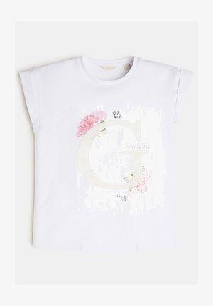 -LOGO - Print T-shirt - weiß