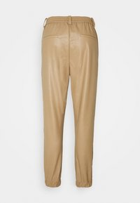 JDY - JDYVERA PANT - Trousers - toasted coconut