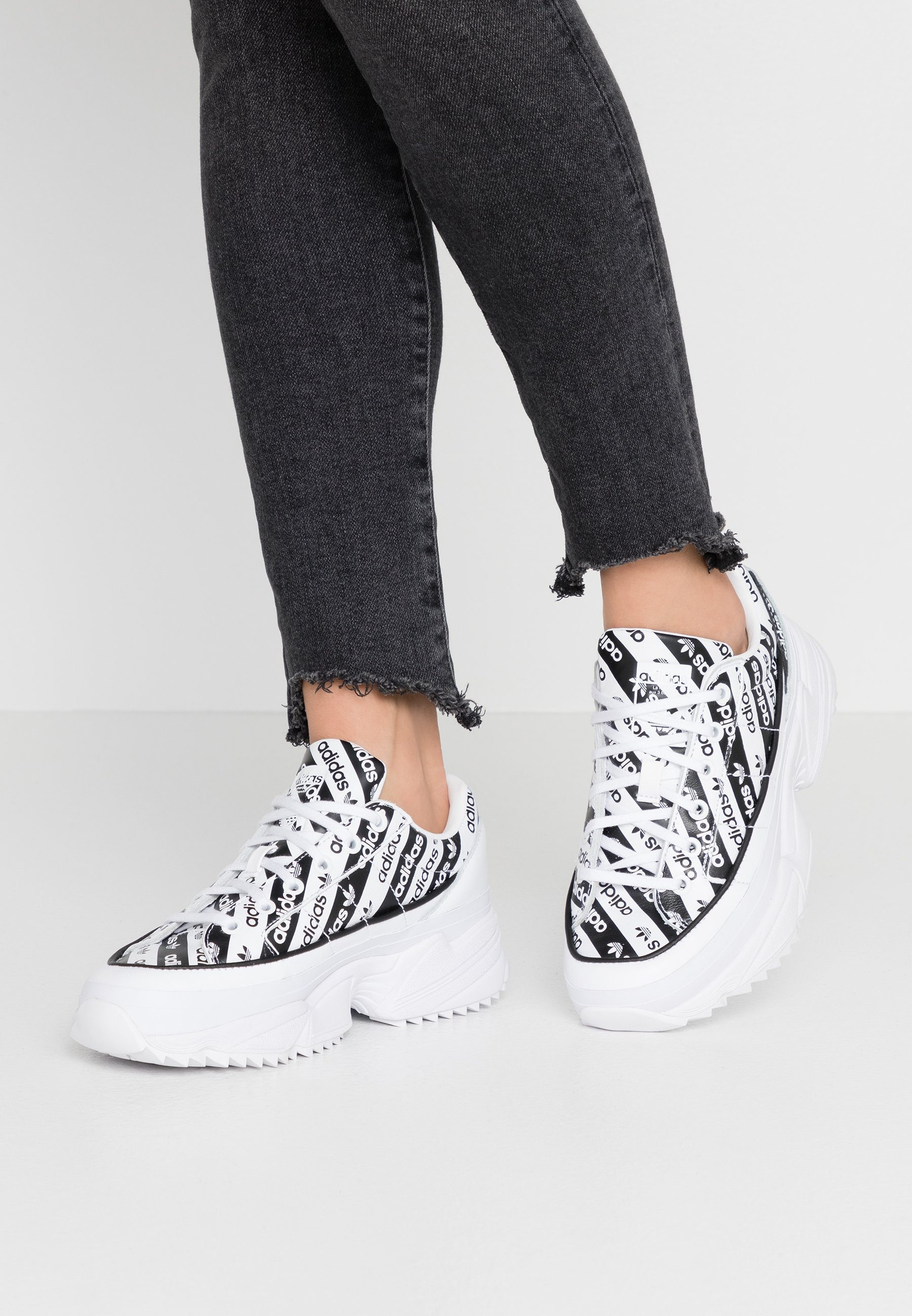 adidas Originals KIELLOR  - Baskets basses - footwear white/core black - Sneakers femme Qualité