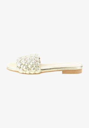 REZZATO - Pantofle - gold