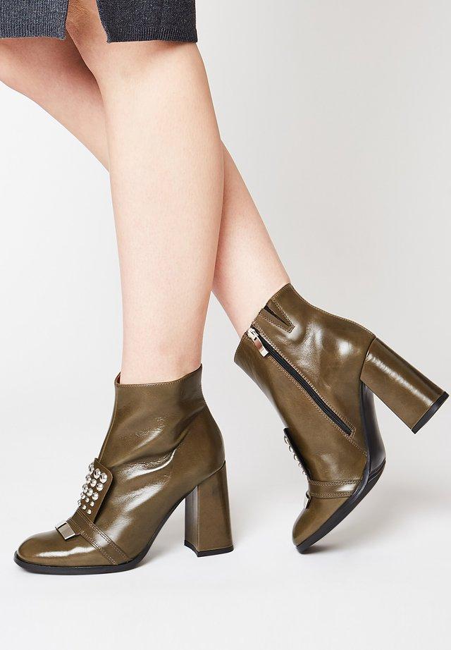 Ankle boot - grün