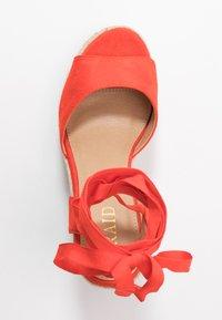 RAID - MARGARET - Sandály na vysokém podpatku - orange - 3