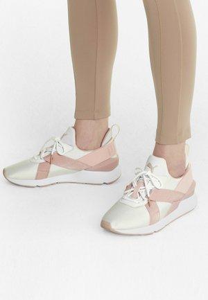 Trainers - puma white-peachskin