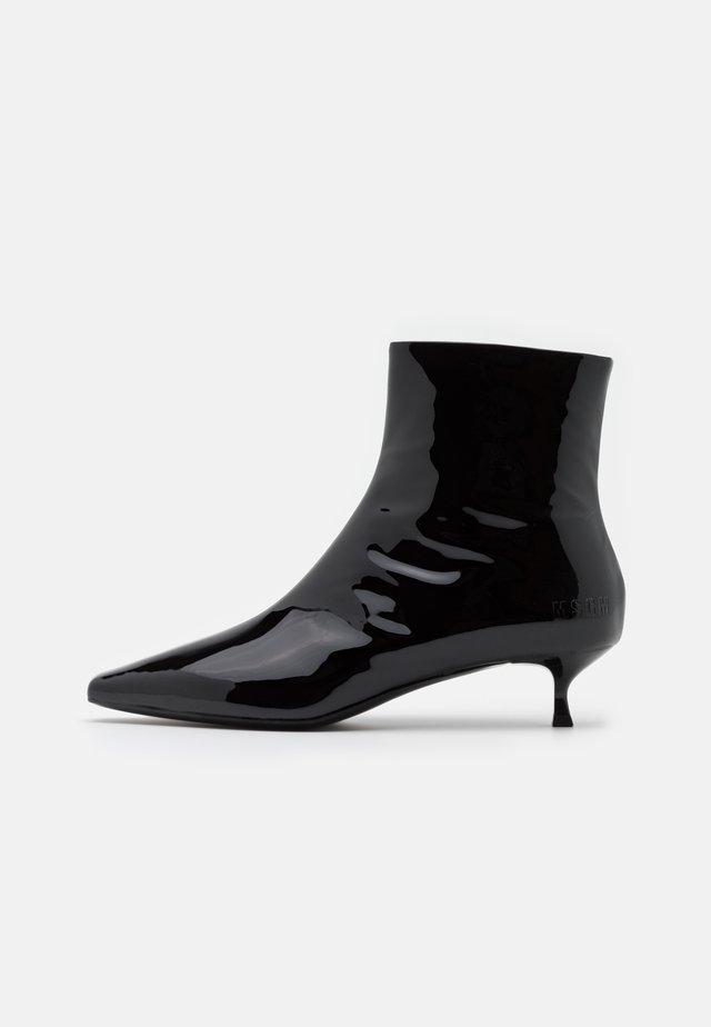 TRONCHETTO DONNA WOMANS BOOT - Bottines - black
