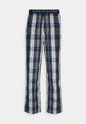 WOVEN PANT PRINT - Pyjama bottoms - blue