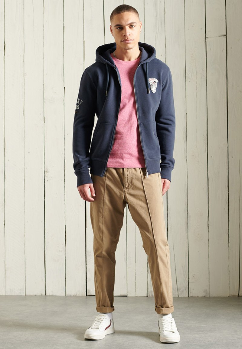 Superdry - Zip-up hoodie - lauren navy