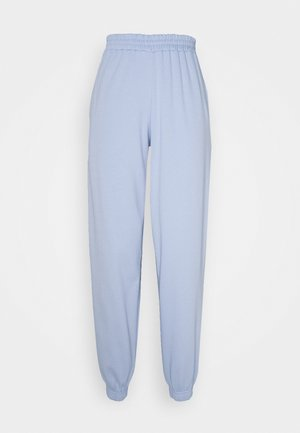 CUFFED JOGGER - Tracksuit bottoms - light blue
