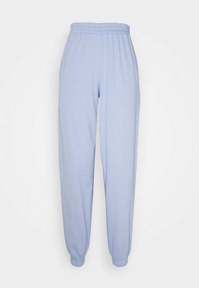CUFFED JOGGER - Verryttelyhousut - light blue