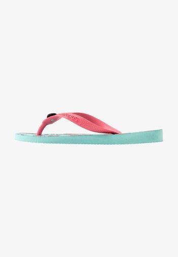 TOP FUN - T-bar sandals - ice blue
