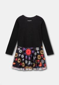 Desigual - KAYLA - Day dress - black - 1
