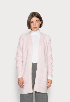 LONG CARDIGAN - Cardigan - chalk pink
