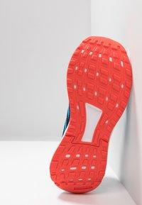 adidas Performance - DURAMO 9 - Laufschuh Neutral - dark blue/shock cyan/active orange - 5