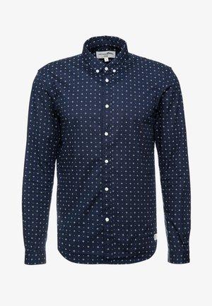 Shirt - navy minimal