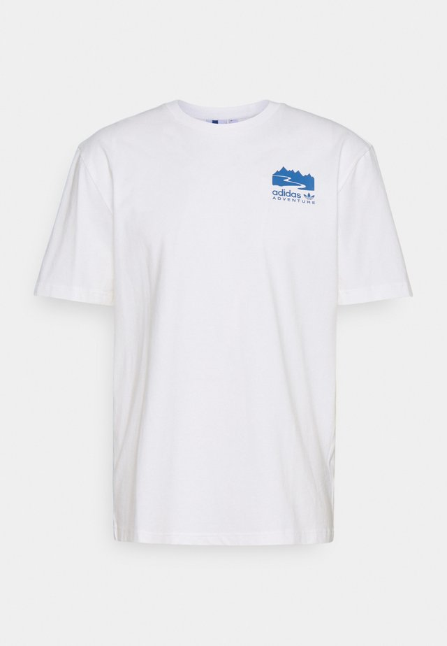 FLMOUNT TEE - T-shirt imprimé - cloud white