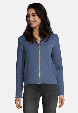 MIT KAPUZE - Zip-up hoodie - dark denim