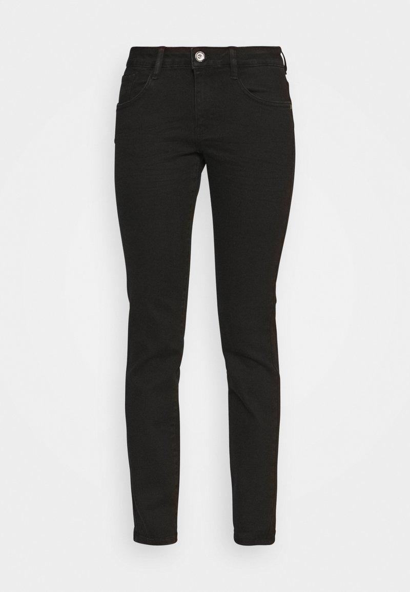 TOM TAILOR - Slim fit jeans - black denim
