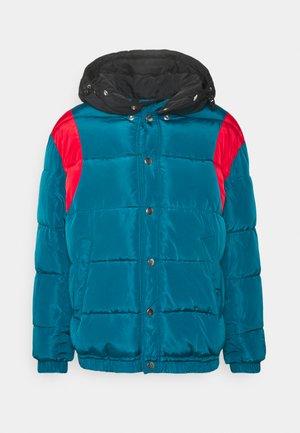 HEROESY JACKET - Zimní bunda - turquise/indigo