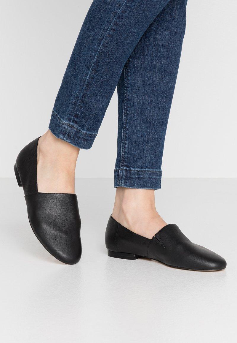 Office - FLEX - Scarpe senza lacci - black