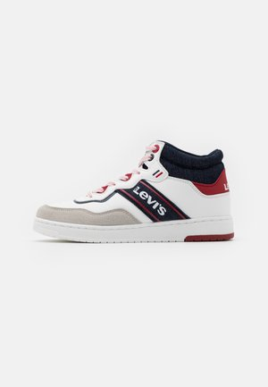 IRVING MID  - Baskets montantes - white/navy