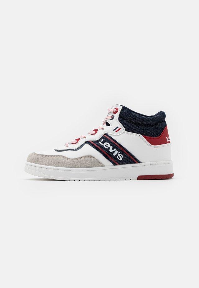 IRVING MID  - Sneakersy wysokie - white/navy