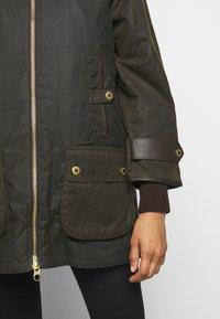 Barbour - NORWOOD WAX - Short coat - olive classic - 6