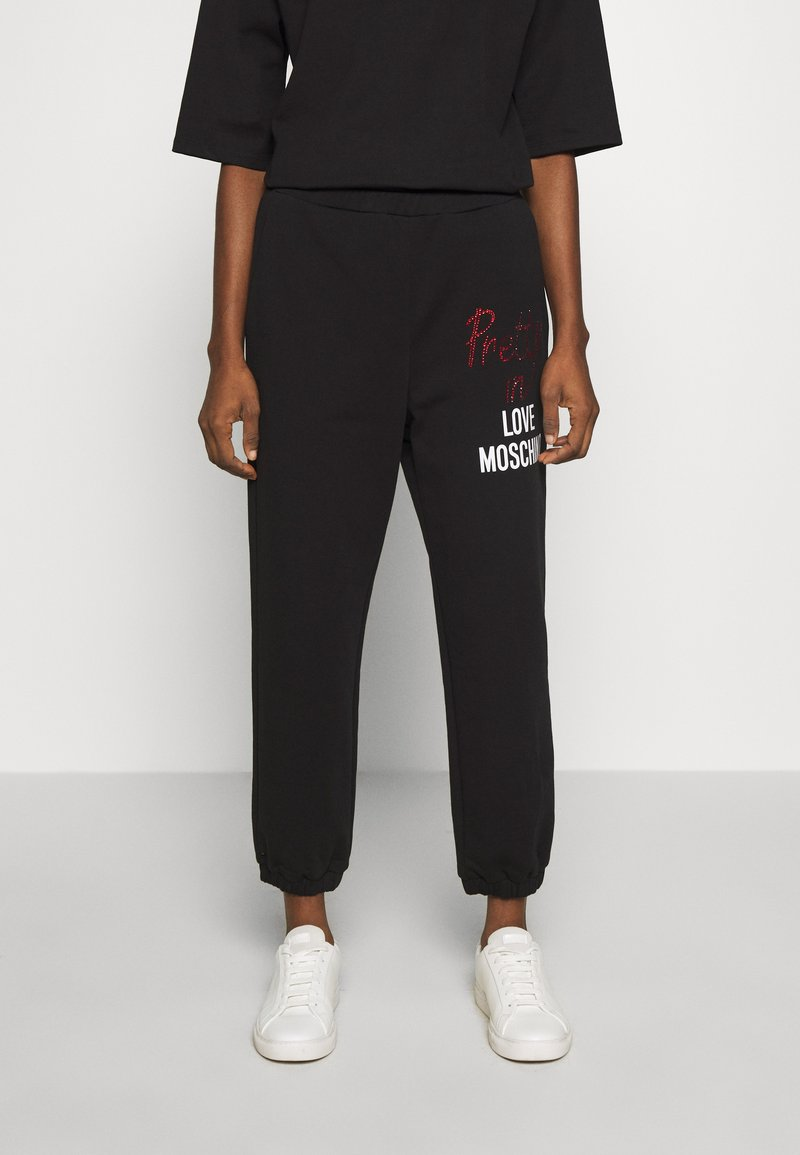 Love Moschino - Tracksuit bottoms - black