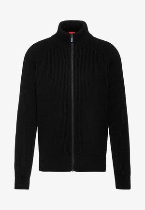 REGULAR FIT - Cardigan - schwarz
