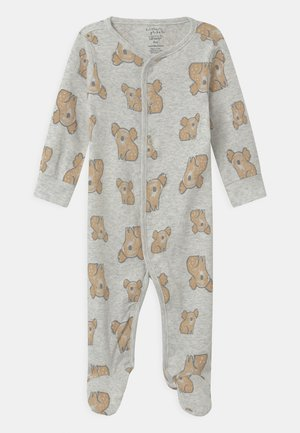 SLEEP PLAY UNISEX - Sleep suit - mottled grey