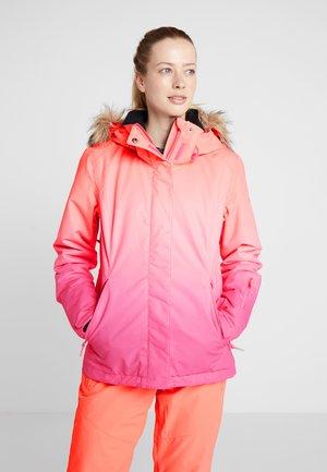 JET SKI  - Snowboardjakke - beetroot pink prado gradient