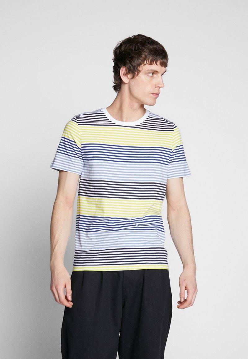 Jack & Jones - JCOARAF TEE CREW NECK - Camiseta estampada - sulphur spring