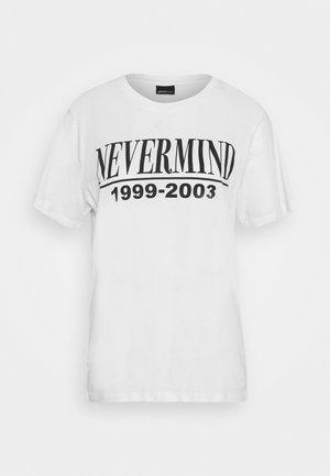 ELLIE TEE - Print T-shirt - white