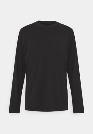 PEEWEE LONGSLEEVE MOCK  - Pitkähihainen paita - black