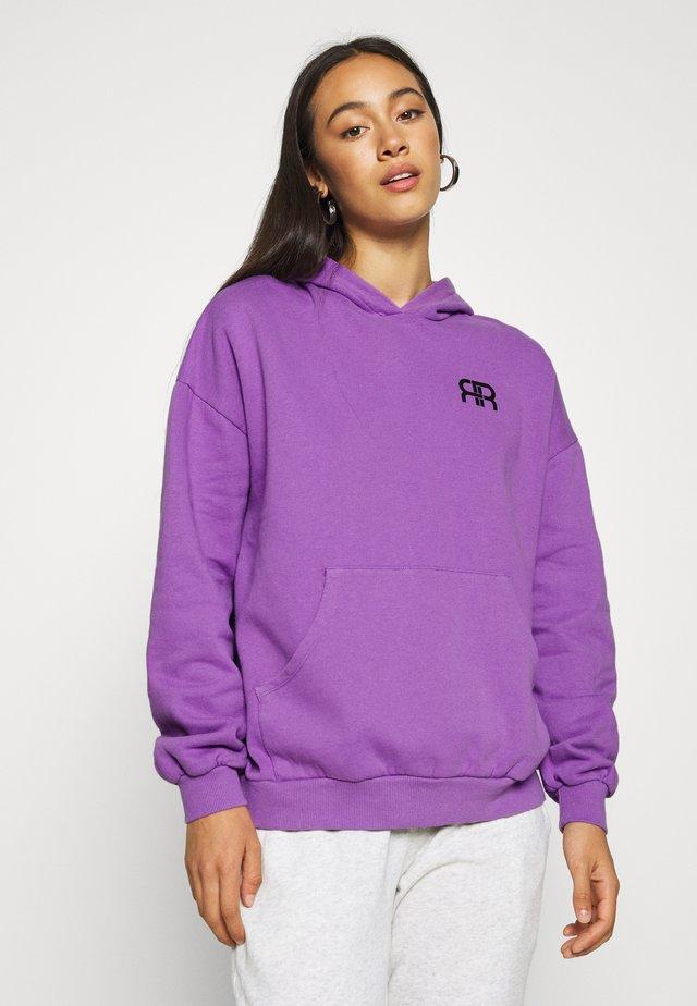Jersey con capucha - purple