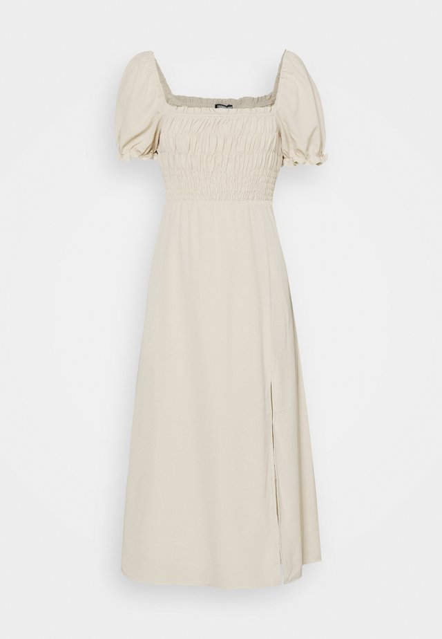RAVELLO MIDI DRESS - Korte jurk - cream