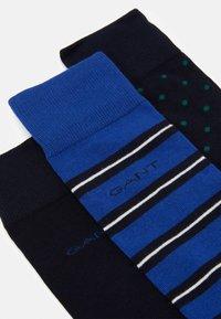 GANT - MIX SOCKS GIFT BOX 3 PACK - Socks - crisp blue - 2
