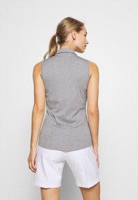 adidas Golf - PERFORMANCE SPORTS GOLF SLEEVELESS - Poloshirt - glory grey - 2