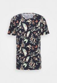 TOM TAILOR DENIM - T-shirt con stampa - navy - 0