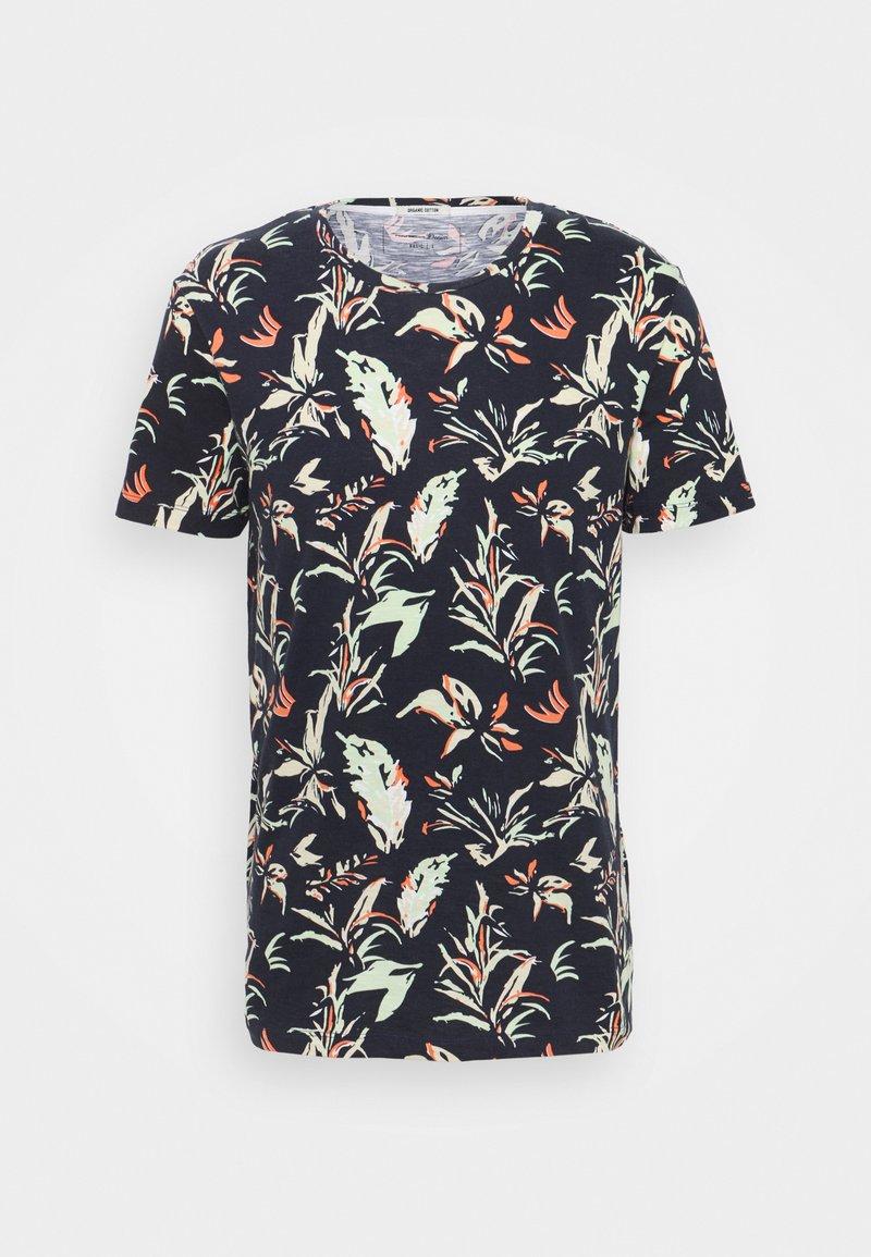TOM TAILOR DENIM - T-shirt con stampa - navy