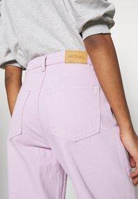 Monki - YOKO - Straight leg jeans - lilac purple light - 3