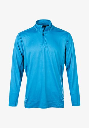 ANGELO MIT QUICK DRY-TECHNOLOGIE - Long sleeved top - blue