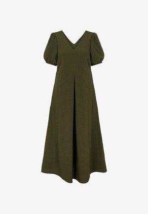 Robe longue - mallard green