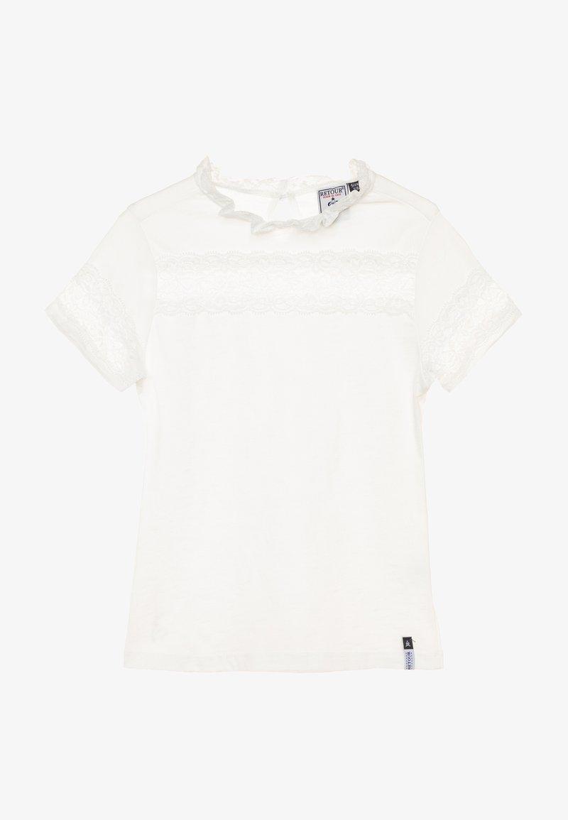 Retour Jeans - GLORIA - Triko spotiskem - white