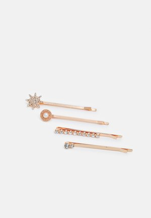 4 PACK - Hair Styling Accessory - rose gold-coloured